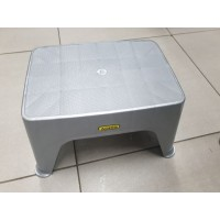 Step stool silver single