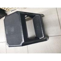 2 step stool black